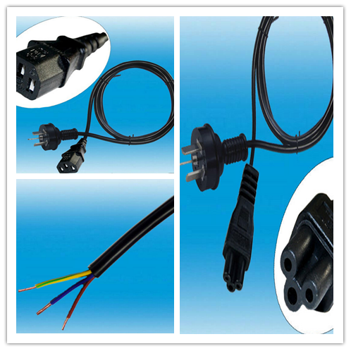 Electrical Plug Computer AC Power Cord Socket Residential ROSH CE Certification