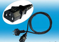 China Electrical Plug Computer AC Power Cord Socket Residential ROSH CE Certification distributor
