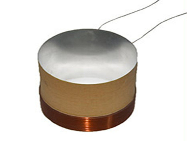 The voice coil's electromagnet is placed within a permanent magnetic field. The two magnets interact, and every time the electromagnet's polarity changes, the interaction between the magnets changes. When the magnets are repeatedly repelled and attracted, they move the coil back and forth quickly, kind of like the piston in an engine.